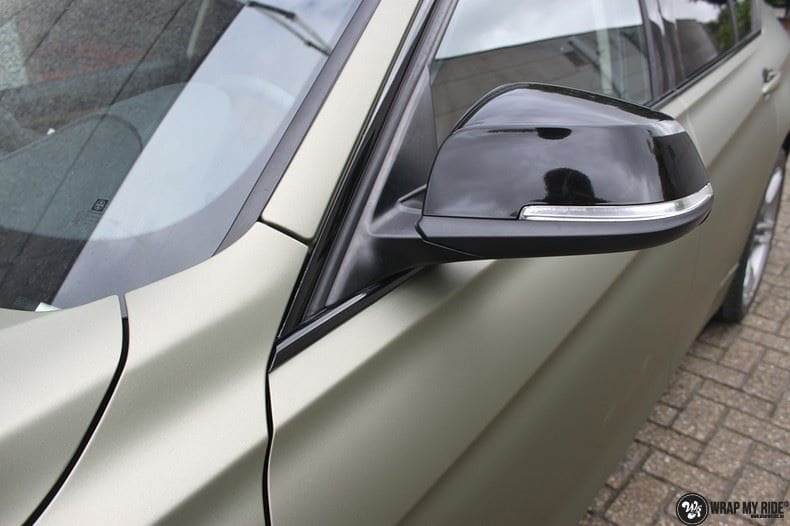 BMW F30 Matte Midnight Sand, Carwrapping door Wrapmyride.nu Foto-nr:9035, ©2021