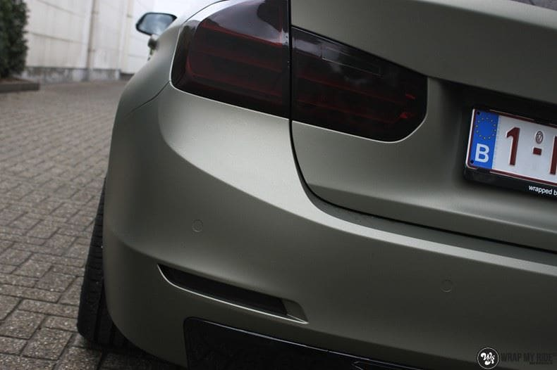 BMW F30 Matte Midnight Sand, Carwrapping door Wrapmyride.nu Foto-nr:9030, ©2020