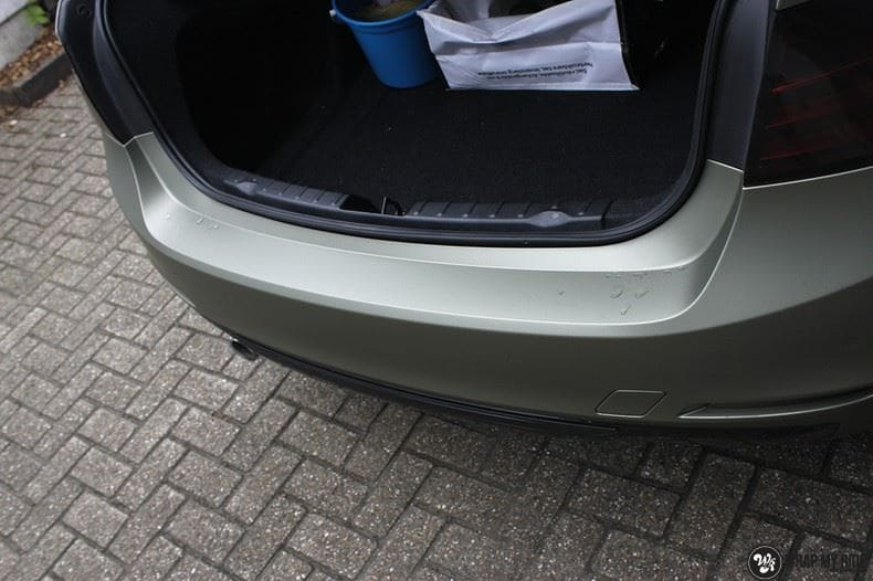 BMW F30 Matte Midnight Sand, Carwrapping door Wrapmyride.nu Foto-nr:9020, ©2020