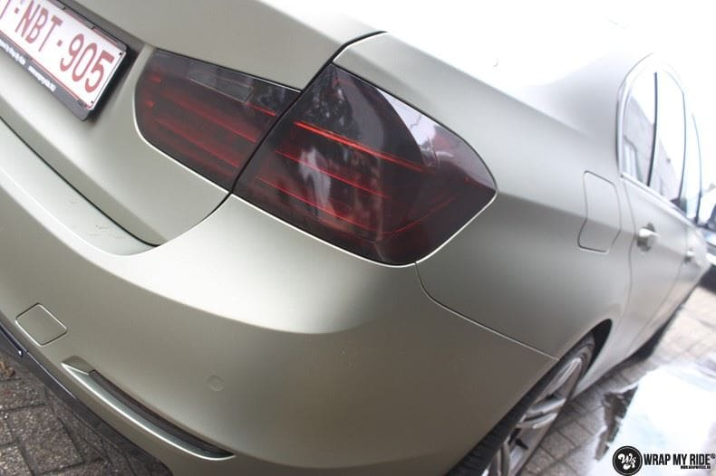 BMW F30 Matte Midnight Sand, Carwrapping door Wrapmyride.nu Foto-nr:9019, ©2020
