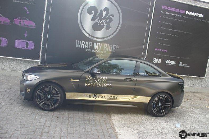 BMW M2 Satin Gold Dust, Carwrapping door Wrapmyride.nu Foto-nr:11571, ©2021
