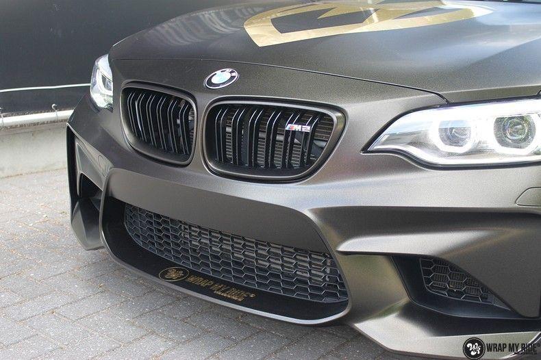 BMW M2 Satin Gold Dust, Carwrapping door Wrapmyride.nu Foto-nr:11567, ©2021