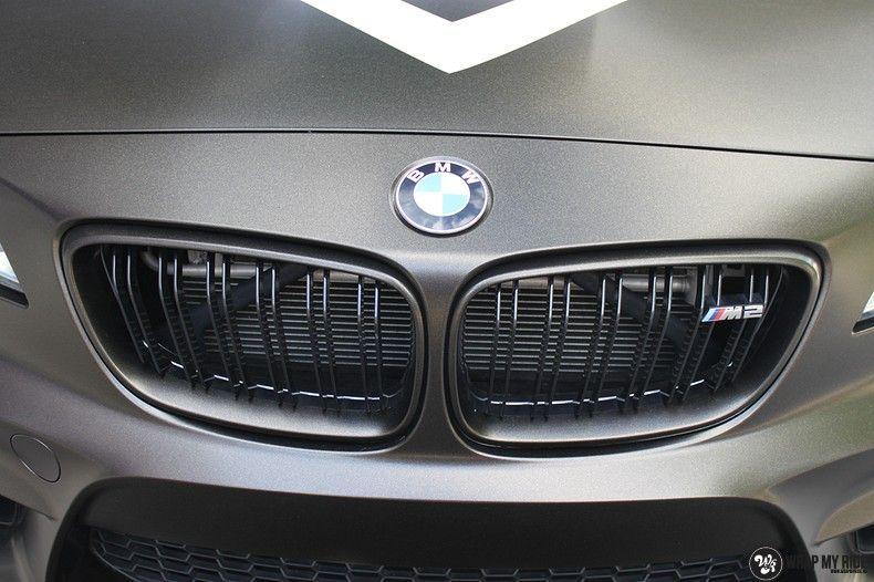 BMW M2 Satin Gold Dust, Carwrapping door Wrapmyride.nu Foto-nr:11566, ©2021