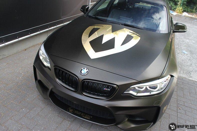 BMW M2 Satin Gold Dust, Carwrapping door Wrapmyride.nu Foto-nr:11565, ©2021