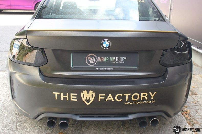 BMW M2 Satin Gold Dust, Carwrapping door Wrapmyride.nu Foto-nr:11561, ©2020