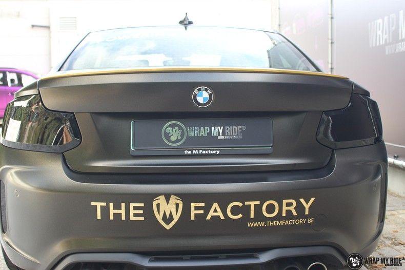 BMW M2 Satin Gold Dust, Carwrapping door Wrapmyride.nu Foto-nr:11560, ©2020