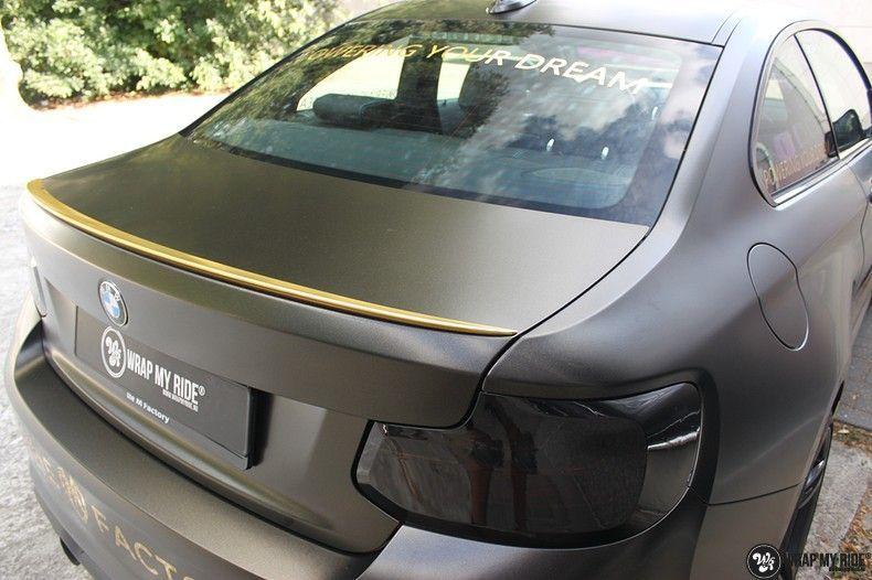 BMW M2 Satin Gold Dust, Carwrapping door Wrapmyride.nu Foto-nr:11559, ©2021