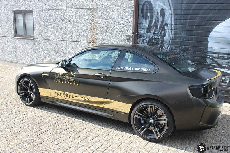 BMW M2 Satin Gold Dust, Carwrapping door Wrapmyride.nu Foto-nr:11558, ©2020