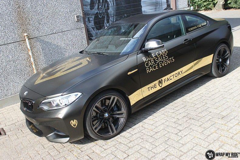BMW M2 Satin Gold Dust, Carwrapping door Wrapmyride.nu Foto-nr:11556, ©2021