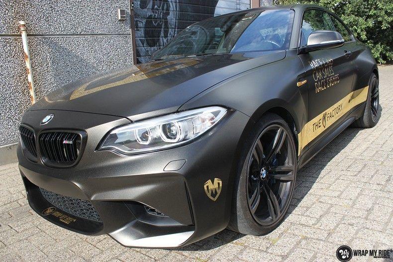 BMW M2 Satin Gold Dust, Carwrapping door Wrapmyride.nu Foto-nr:11555, ©2021