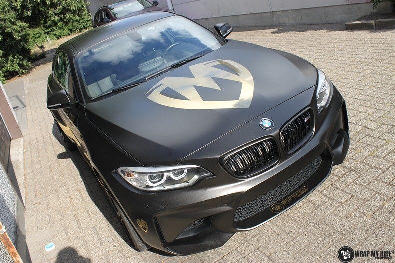BMW M2 Satin Gold Dust, Carwrapping door Wrapmyride.nu Foto-nr:11553, ©2021