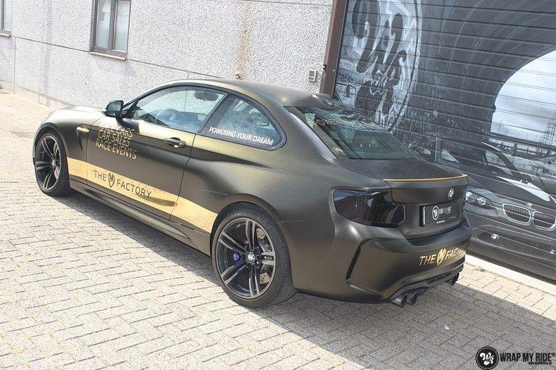 BMW M2 Satin Gold Dust, Carwrapping door Wrapmyride.nu Foto-nr:11552, ©2021