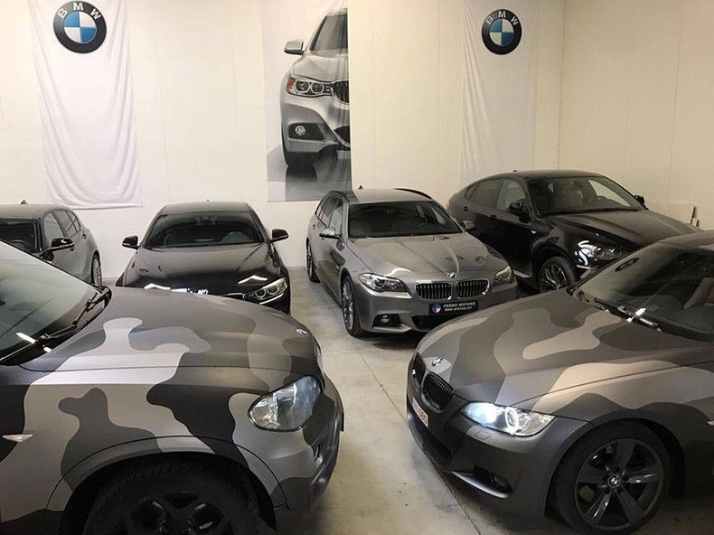 BMW X5 stealth camo wrap, Carwrapping door Wrapmyride.nu Foto-nr:11905, ©2019