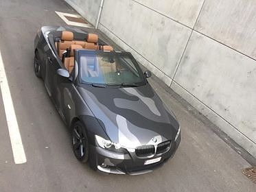 BMW 330 stealth camo wrap, Carwrapping door Wrapmyride.nu Foto-nr:11923, ©2018