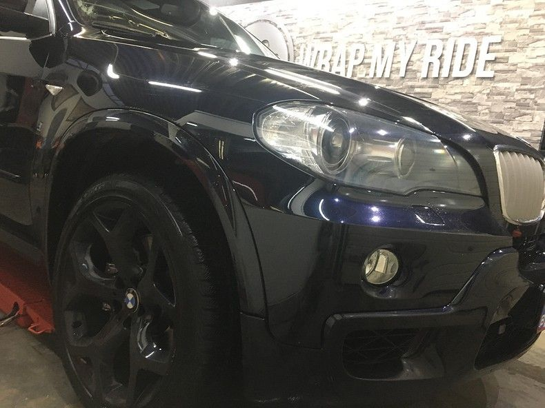 BMW X5 stealth camo wrap, Carwrapping door Wrapmyride.nu Foto-nr:11929, ©2019