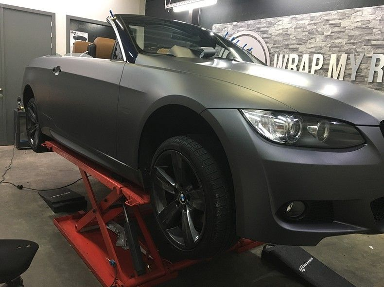 BMW 330 stealth camo wrap, Carwrapping door Wrapmyride.nu Foto-nr:11950, ©2018