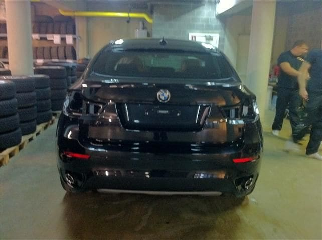 BMW X6 met Mat Zwarte Wrap, Carwrapping door Wrapmyride.nu Foto-nr:5494, ©2020