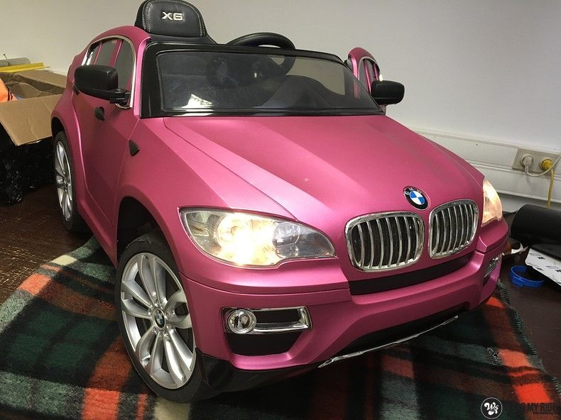 BMW X6 mini matte metallic pink, Carwrapping door Wrapmyride.nu Foto-nr:11344, ©2021