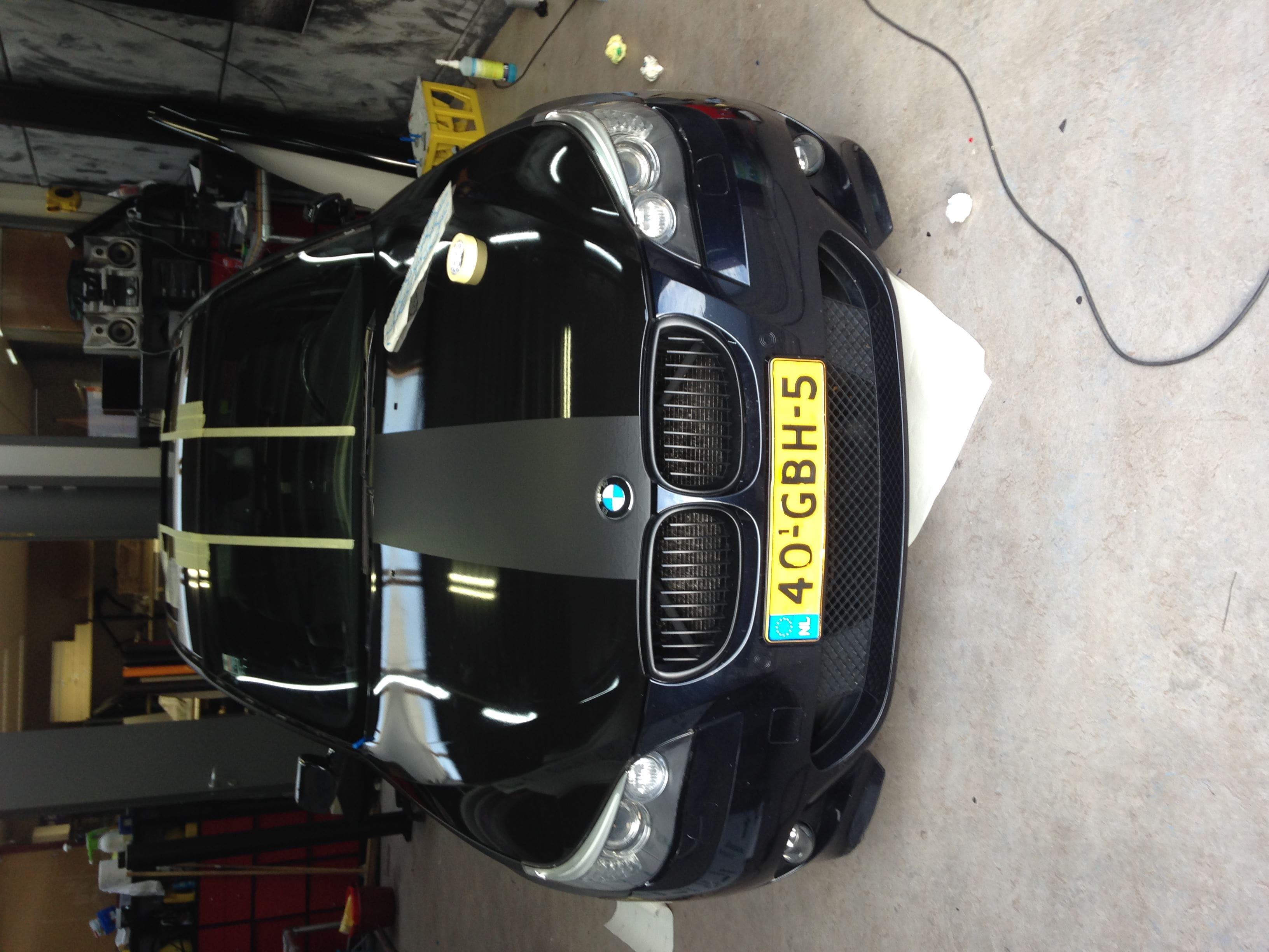 BWM 5 Serie met een Speciale Darkraver Wrap, Carwrapping door Wrapmyride.nu Foto-nr:5216, ©2021