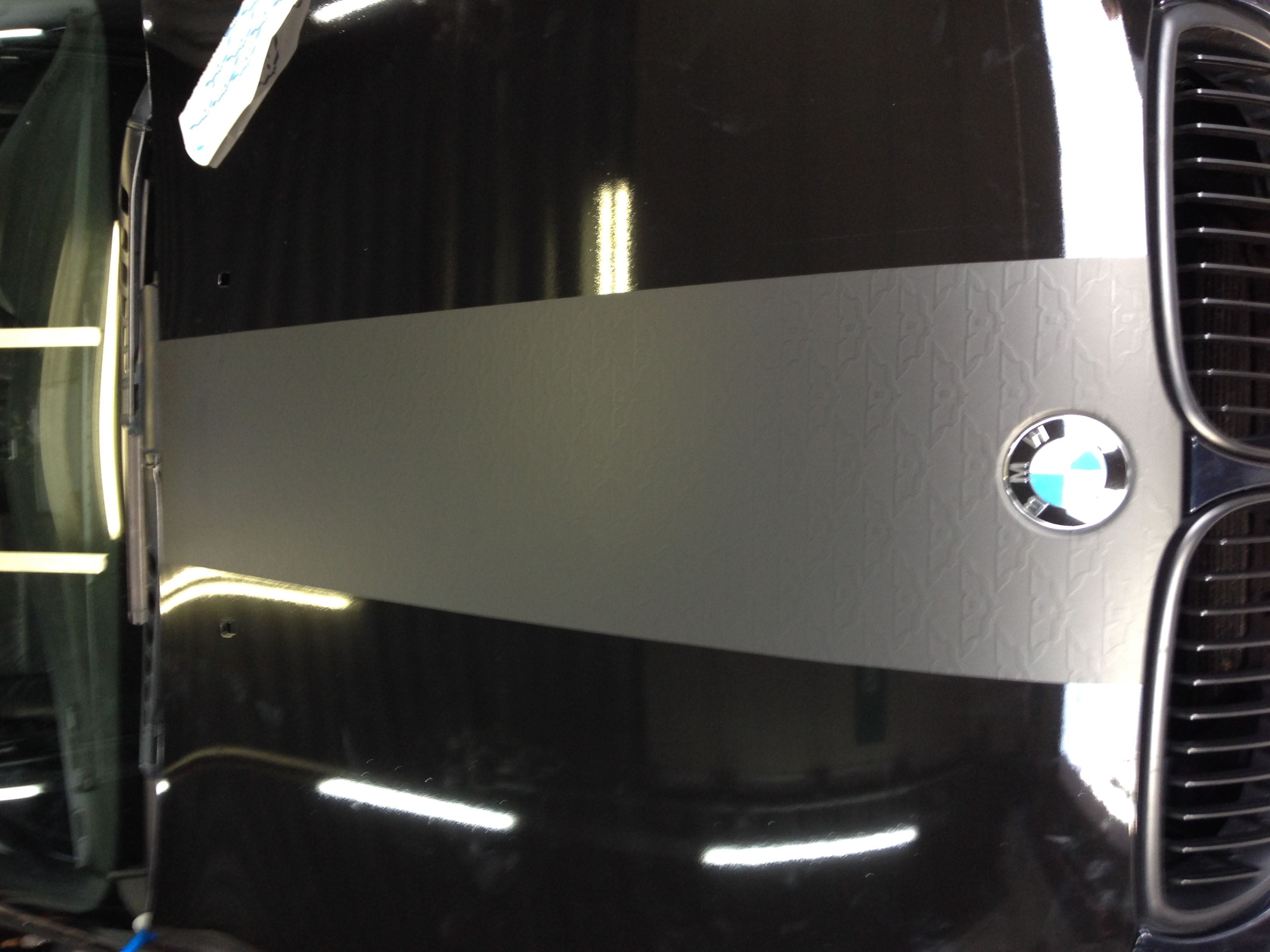 BWM 5 Serie met een Speciale Darkraver Wrap, Carwrapping door Wrapmyride.nu Foto-nr:5217, ©2021