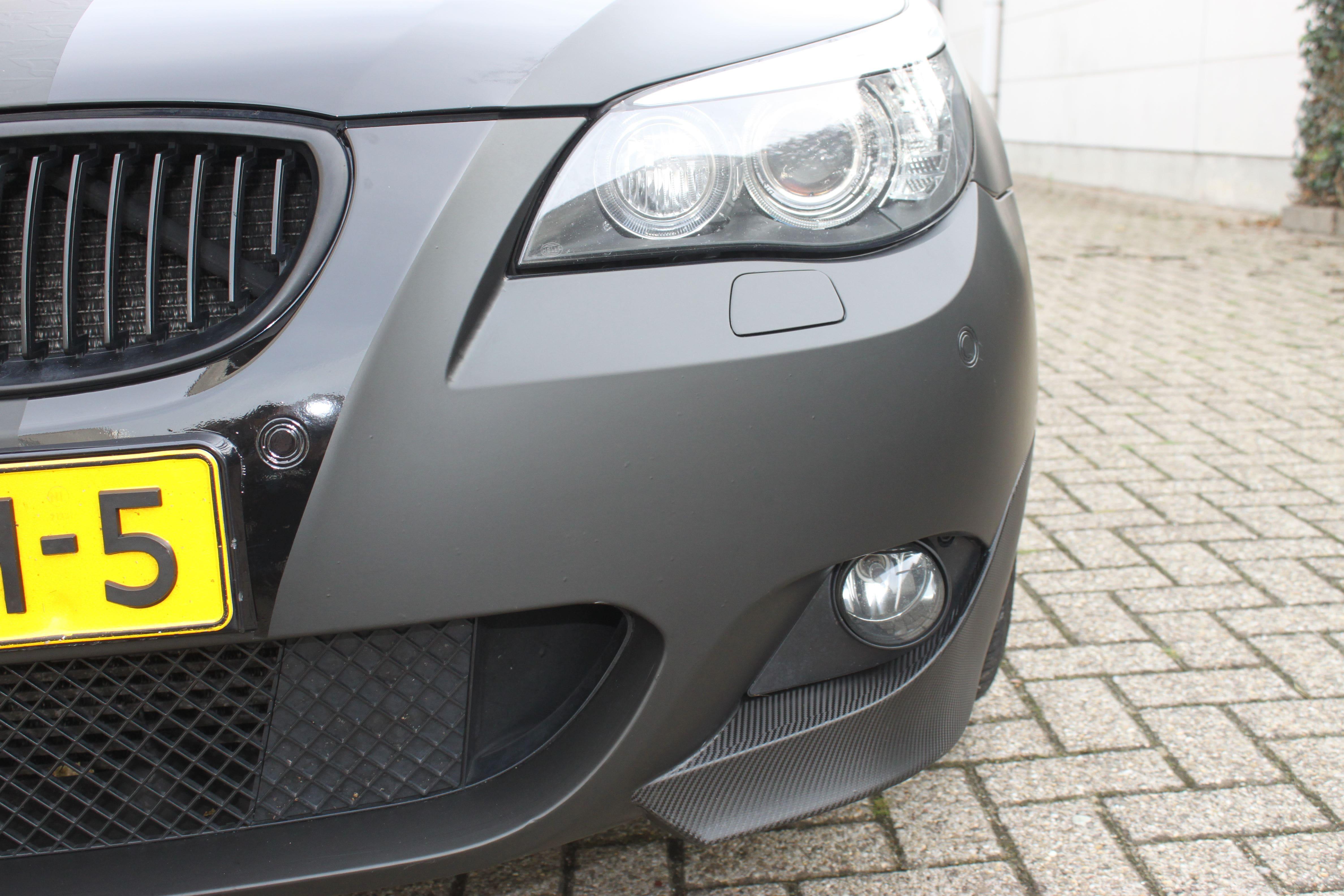BWM 5 Serie met een Speciale Darkraver Wrap, Carwrapping door Wrapmyride.nu Foto-nr:5229, ©2021