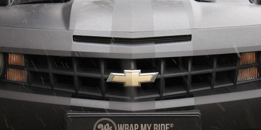 Chevrolet Camaro Matte Deep Black