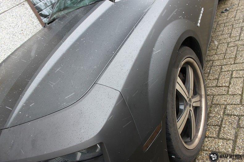 Chevrolet Camaro Matte Deep Black, Carwrapping door Wrapmyride.nu Foto-nr:10757, ©2019
