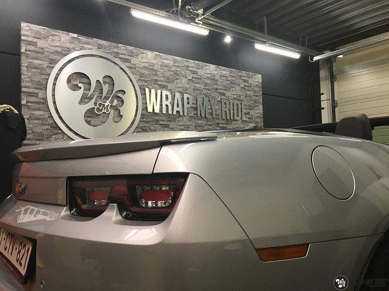 Chevrolet Camaro Matte Deep Black, Carwrapping door Wrapmyride.nu Foto-nr:10769, ©2020
