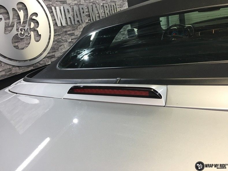 Chevrolet Camaro Matte Deep Black, Carwrapping door Wrapmyride.nu Foto-nr:10771, ©2020