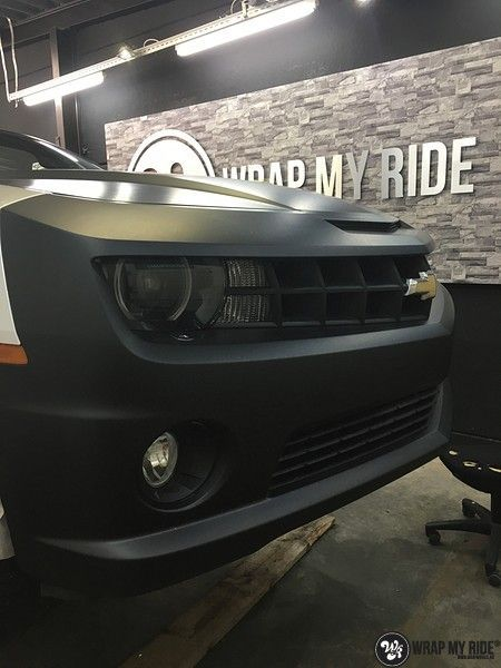 Chevrolet Camaro Matte Deep Black, Carwrapping door Wrapmyride.nu Foto-nr:10774, ©2020