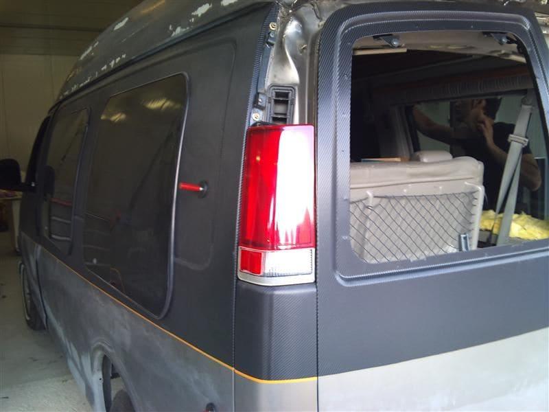 Chevrolet Explorer met Two Tone Wrap, Carwrapping door Wrapmyride.nu Foto-nr:5547, ©2021