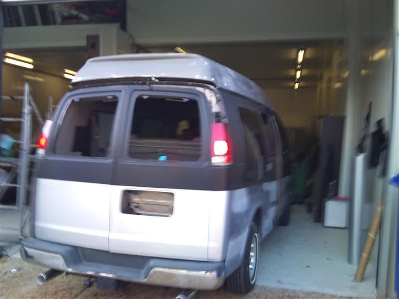 Chevrolet Explorer met Two Tone Wrap, Carwrapping door Wrapmyride.nu Foto-nr:5549, ©2021