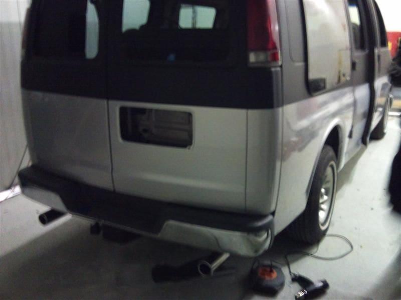 Chevrolet Explorer met Two Tone Wrap, Carwrapping door Wrapmyride.nu Foto-nr:5551, ©2021
