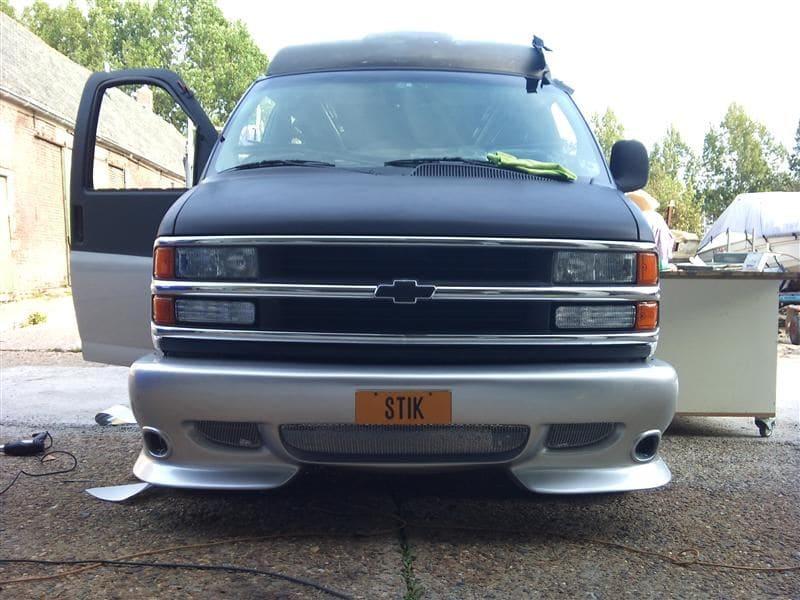 Chevrolet Explorer met Two Tone Wrap, Carwrapping door Wrapmyride.nu Foto-nr:5552, ©2021