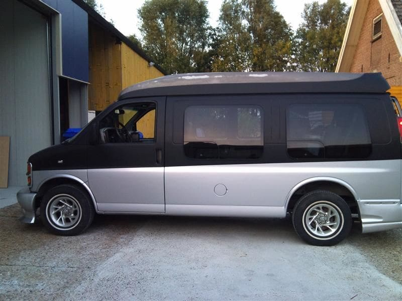 Chevrolet Explorer met Two Tone Wrap, Carwrapping door Wrapmyride.nu Foto-nr:5555, ©2021