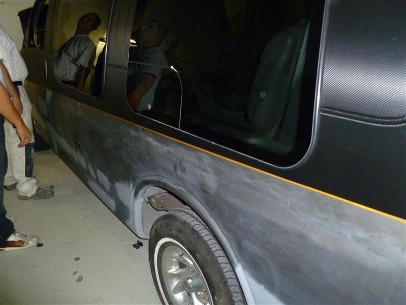 Chevrolet Explorer met Two Tone Wrap, Carwrapping door Wrapmyride.nu Foto-nr:5556, ©2021