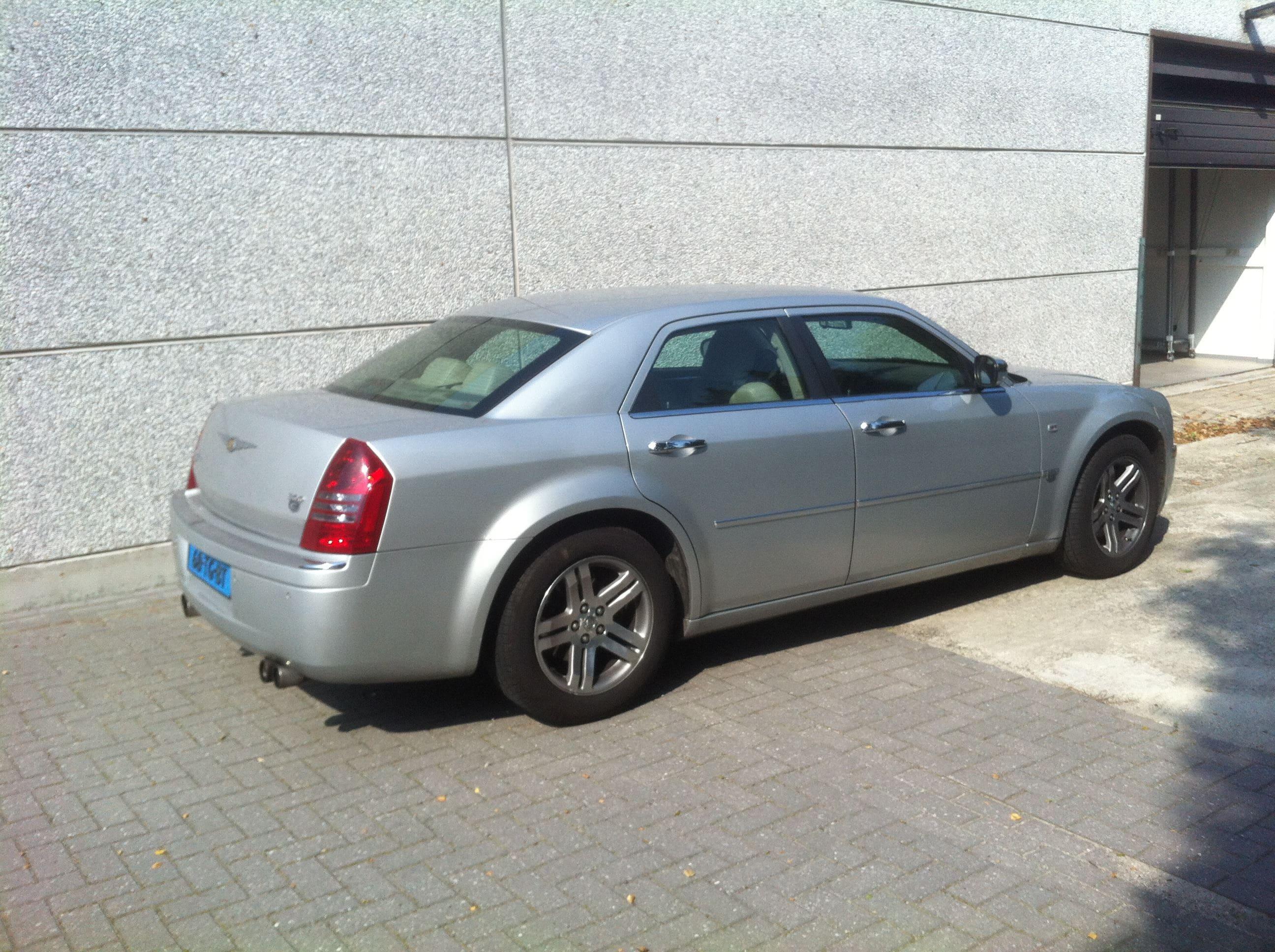 Chrysler 300c voor Club Sweet, Carwrapping door Wrapmyride.nu Foto-nr:5572, ©2020