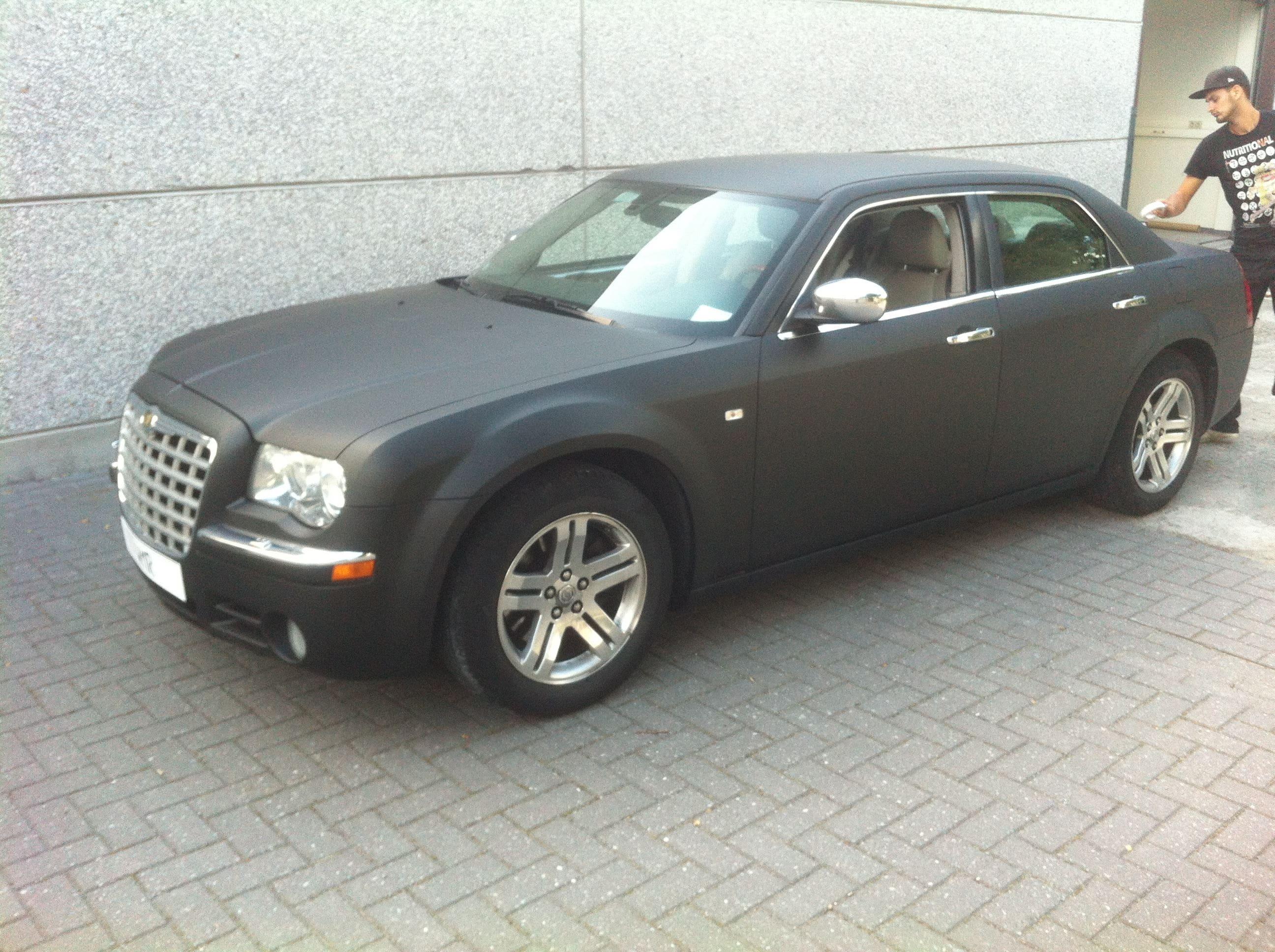 Chrysler 300c voor Club Sweet, Carwrapping door Wrapmyride.nu Foto-nr:5574, ©2020