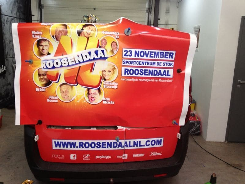 Diverse Auto's met een Full Color Wrap, Carwrapping door Wrapmyride.nu Foto-nr:5852, ©2020