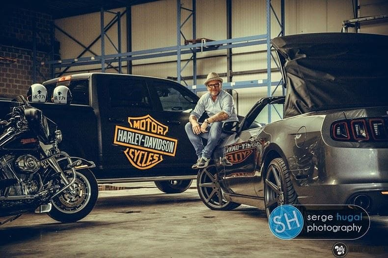 Dodge Ram Harley Davidson edition, Carwrapping door Wrapmyride.nu Foto-nr:8997, ©2021