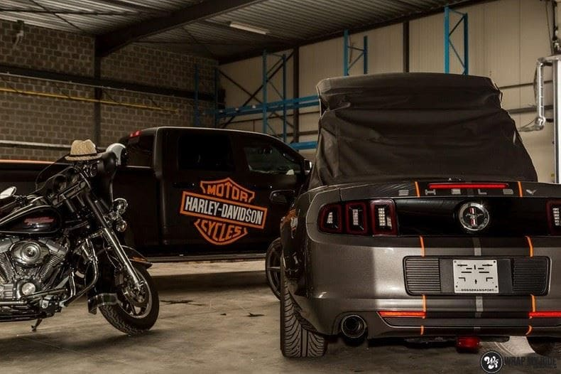 Dodge Ram Harley Davidson edition, Carwrapping door Wrapmyride.nu Foto-nr:8999, ©2020