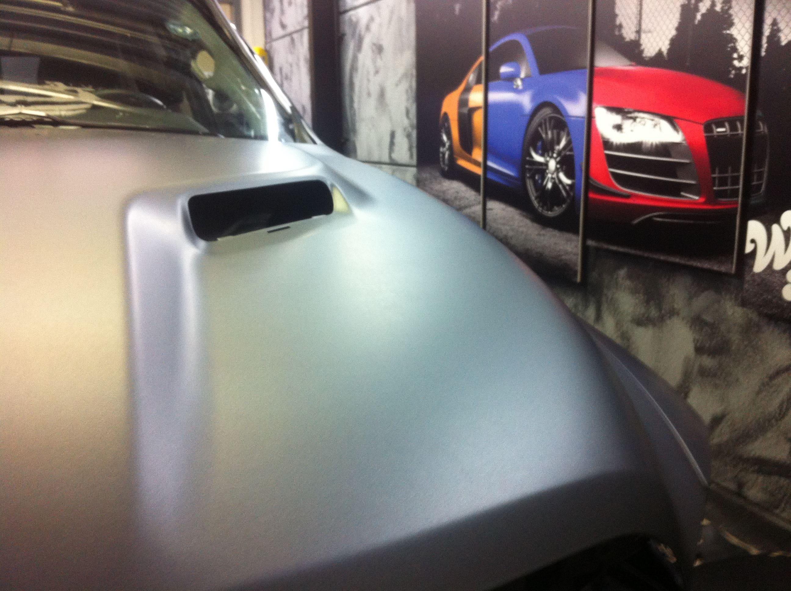 Dodge ram met een Gunpowder Wrap, Carwrapping door Wrapmyride.nu Foto-nr:5623, ©2020