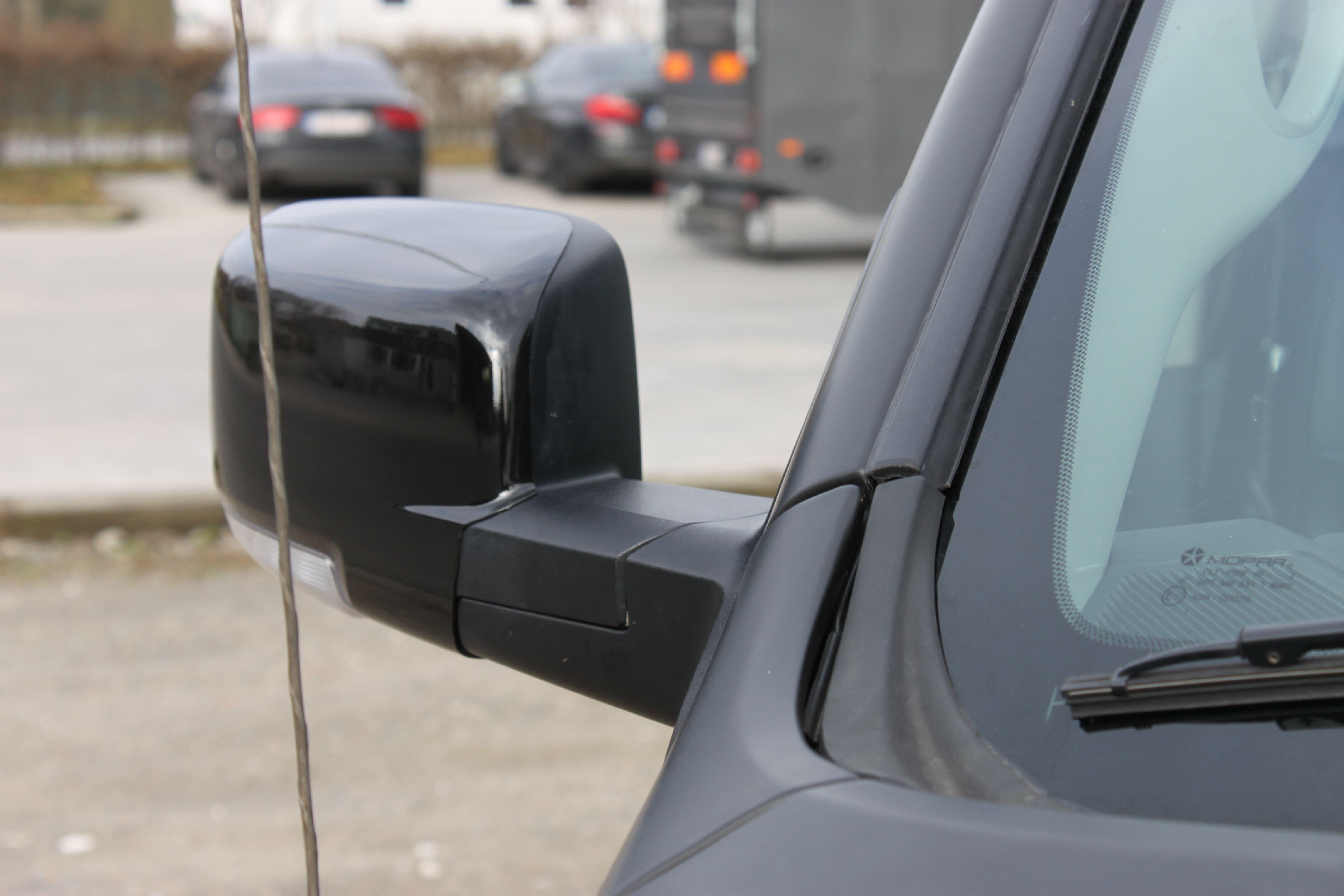 Dodge Ram met Mat Zwarte Wrap, Carwrapping door Wrapmyride.nu Foto-nr:5680, ©2021