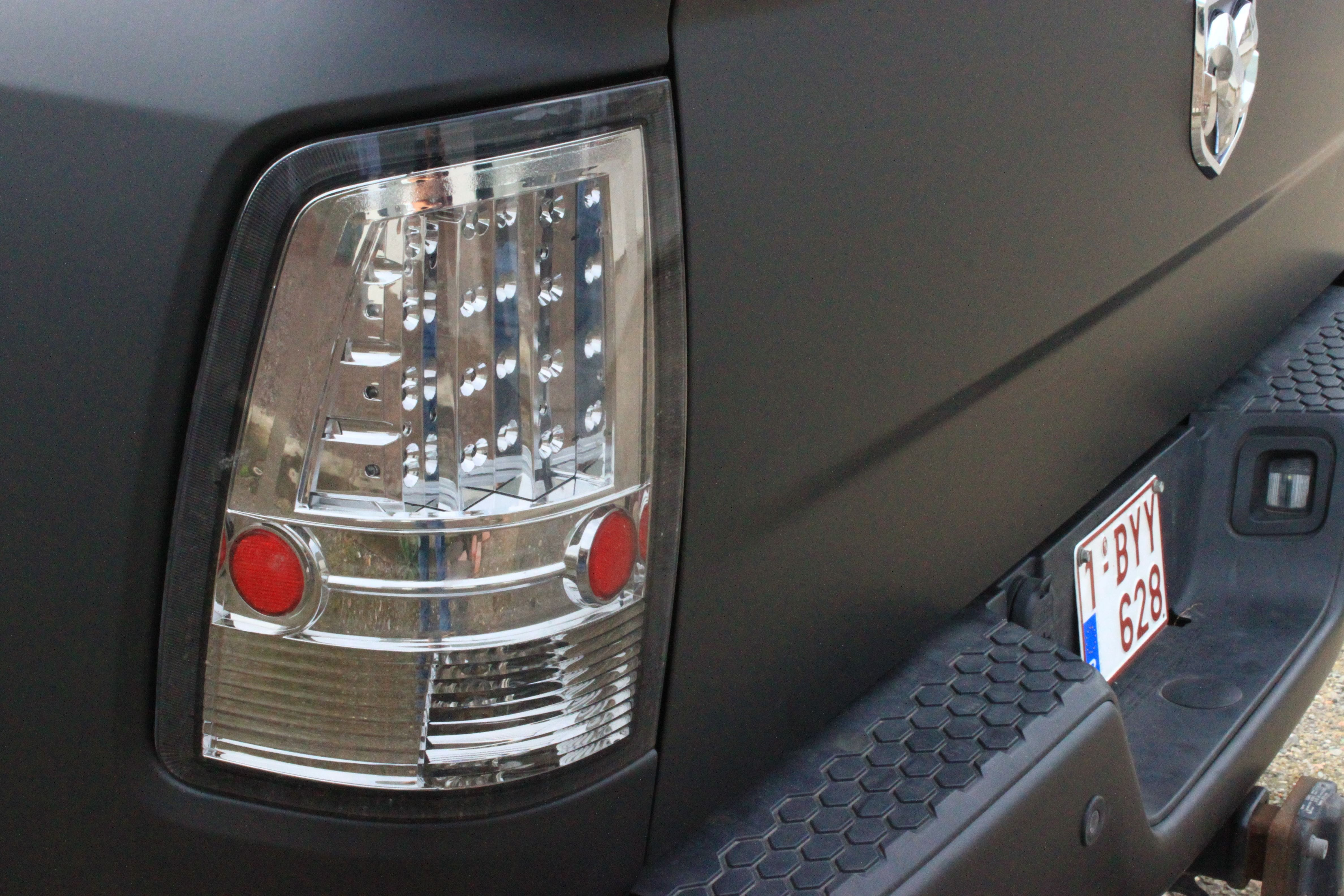 Dodge Ram met Mat Zwarte Wrap, Carwrapping door Wrapmyride.nu Foto-nr:5687, ©2021
