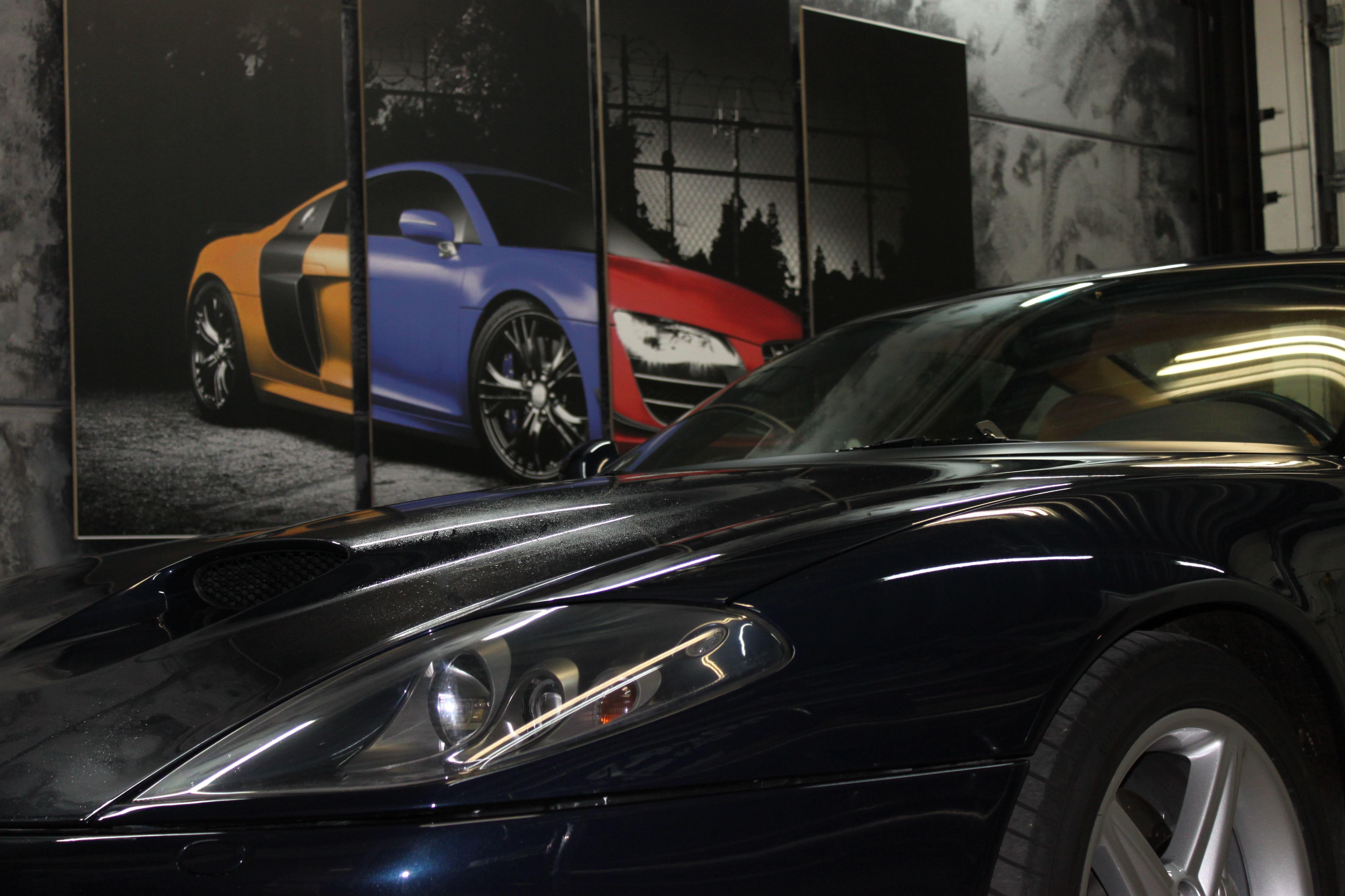 Ferrari 575 met Goud Chrome Wrap., Carwrapping door Wrapmyride.nu Foto-nr:5695, ©2021