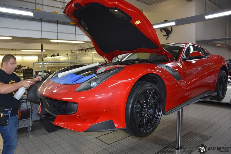 Ferrari F12 TDF Xpel Ultimate, Carwrapping door Wrapmyride.nu Foto-nr:10329, ©2020