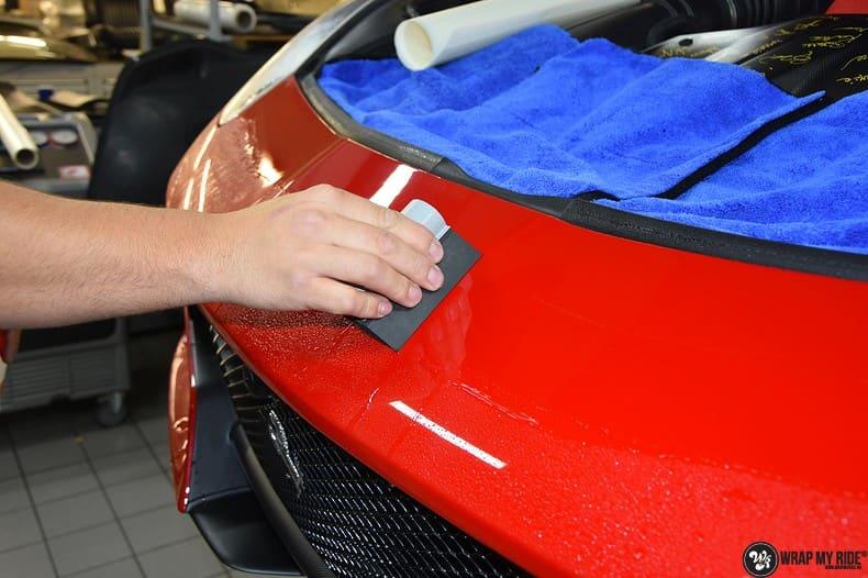 Ferrari F12 TDF Xpel Ultimate, Carwrapping door Wrapmyride.nu Foto-nr:10332, ©2018