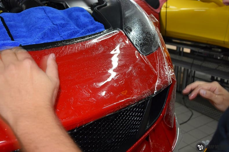 Ferrari F12 TDF Xpel Ultimate, Carwrapping door Wrapmyride.nu Foto-nr:10335, ©2018