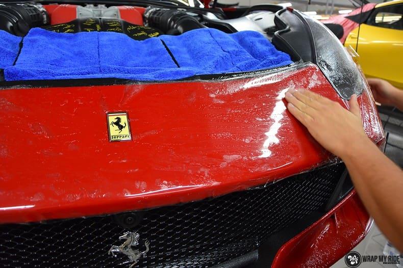 Ferrari F12 TDF Xpel Ultimate, Carwrapping door Wrapmyride.nu Foto-nr:10336, ©2018
