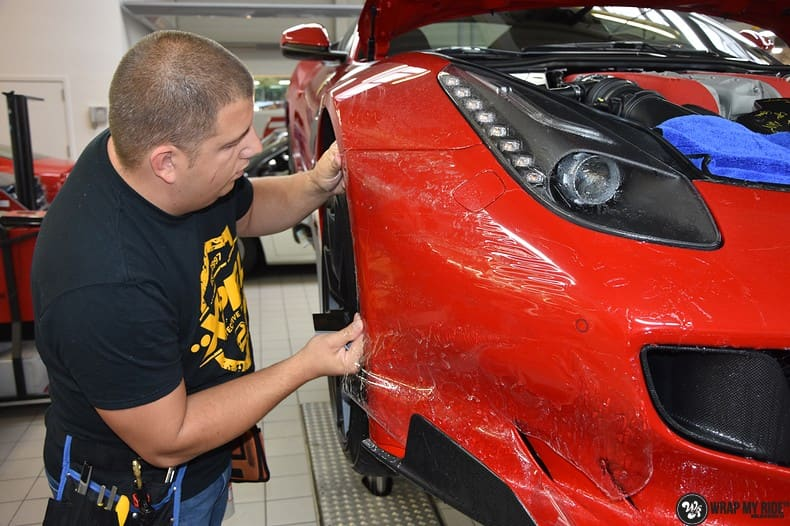 Ferrari F12 TDF Xpel Ultimate, Carwrapping door Wrapmyride.nu Foto-nr:10337, ©2020